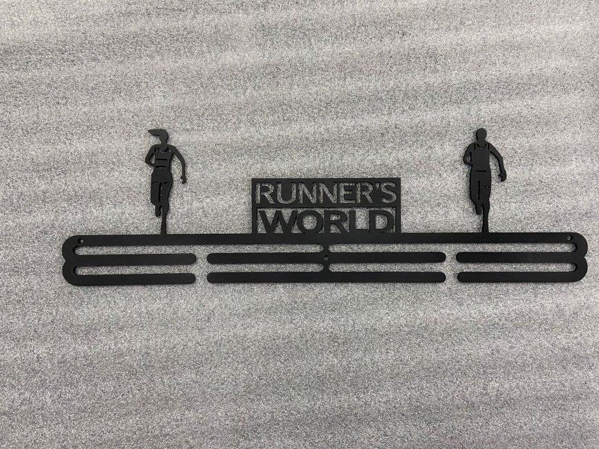 Medaljehenger Runner's World Challenge