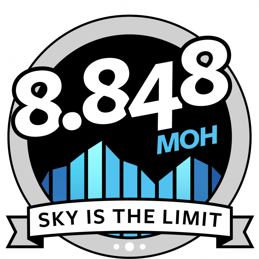 Sky is the Limit i august - 8848 meter